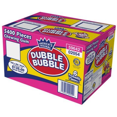 Dubble Bubble Chewing Gum - 5400 pcs.