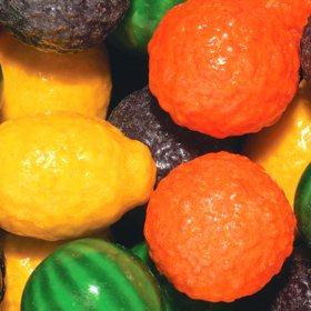 Dubble Bubble 24mm Gumballs Fancy Fruit (17.24lbs.)