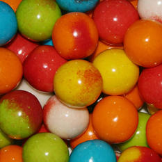 Dubble Bubble Filled 24mm Gumballs - 850 count - Various Flavors