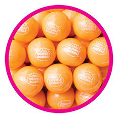 Dubble Bubble Orange Sherbet Gumballs (850 ct.)