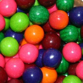 Dubble Bubble 6 Flavor Fruit Mix Gumballs (23 mm., 1,080 ct.)