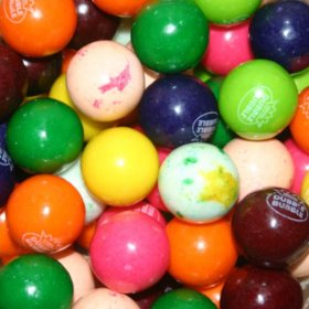 Dubble Bubble 10 Color/Flavor Assorted Gumballs (24 mm., 850 ct.)