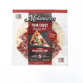 Molinaro's Thin Crust Pizza Kit (5 pk.)