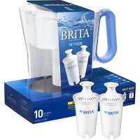 Brita Large 10-Cup Water Filter Pitcher with 2 Standard Filters