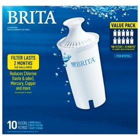 Brita Standard Water Filter, 10 Count