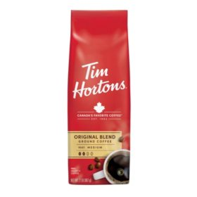 Tim Hortons Original Blend Ground Coffee, Medium Roast (32 oz.)