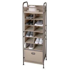 neatfreak Vertical 12-Cubby Shoe Storage Organizer