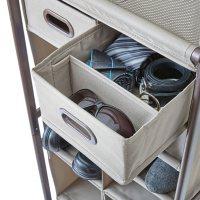 neatfreak 16-Cubby Adjustable Shoe Organizer with Drawers