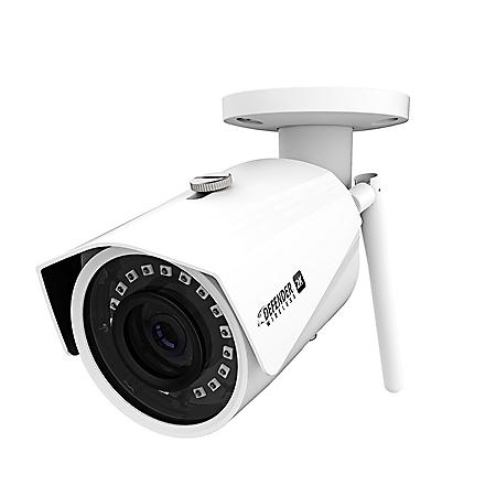Defender 2K (4MP) Wireless Wide Angle, Night Vision IP Camera with Remote Mobile Viewing