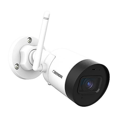 Defender Guard 4 Megapixel (2K) Resolution Wi-Fi IP Security Camera with Mobile Viewing, Audio Recording and No Monthly Fees