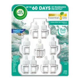 Air Wick Scented Oil 9 Refills (Choose your scent), Air Freshener