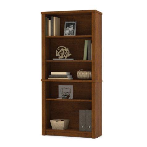 Bestar Embassy OfficePro 60000 Modular Bookcase, Tuscany Brown