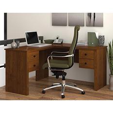 Bestar Somerville HomePro 45000 L-Shaped Desk, Select Color