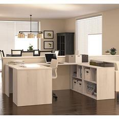 Bestar i3 OfficePro 150000 U-Shaped Desk, Select Color