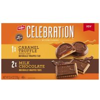 Leclerc Celebration Variety Pack, Milk Chocolate and Caramel Truffle Butter Cookies (25.4 oz.)