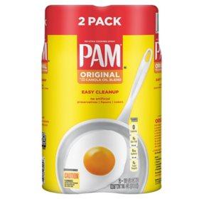 Pam Original Cooking Spray (12 oz., 2 pk.)