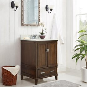 "Dorel Living Otum 24"" Bathroom Vanity"
