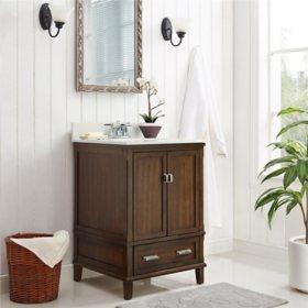 """Dorel Living Otum 24"""" Bathroom Vanity"""