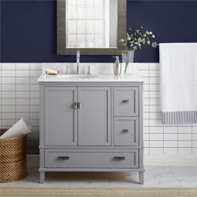 "Dorel Living Otum 36"" Bathroom Vanity"