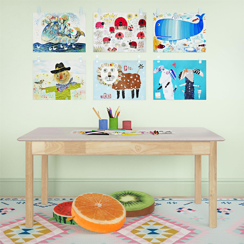 Bertini Kids Bear Rectangular Activity Table