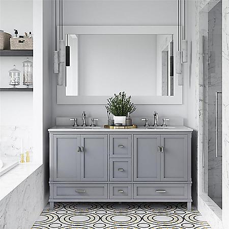 "Dorel Living Otum 60"" Double Bathroom Vanity"