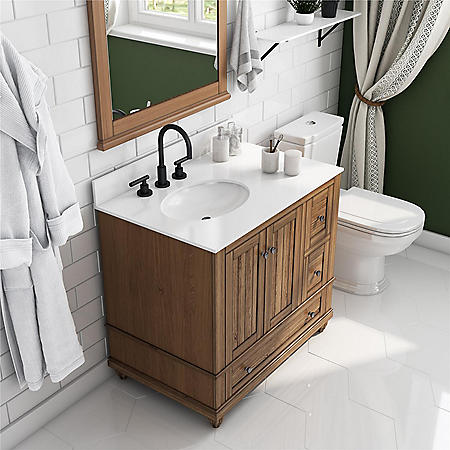 "Dorel Living Monteray Beach 36"" Bathroom Vanity"