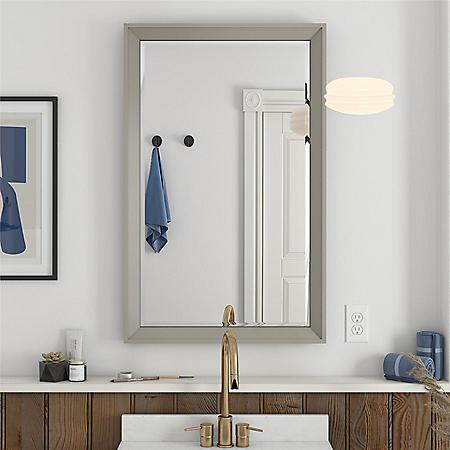 "Dorel Living Tribecca 24"" Bathroom Mirror"