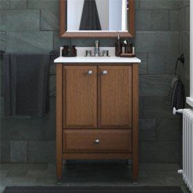 """Dorel Living Metcalfe 24"""" Bathroom Vanity"""