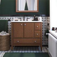 """Dorel Living Metcalfe 36"""" Bathroom Vanity"""