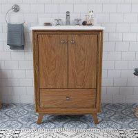 """Dorel Living Bleeker 24"""" Bathroom Vanity"""