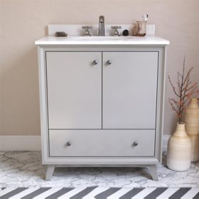 """Dorel Living Bleeker 30"""" Bathroom Vanity"""