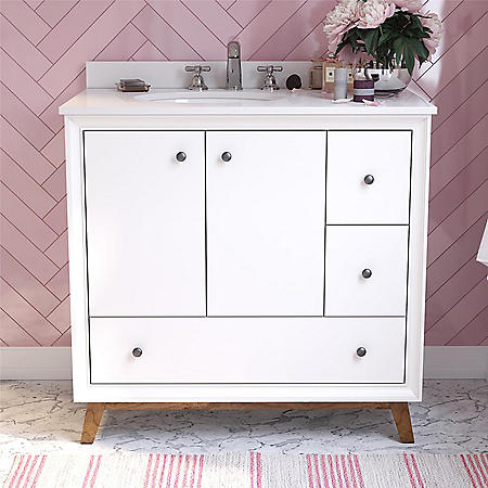 "Dorel Living Bleeker 36"" Bathroom Vanity"