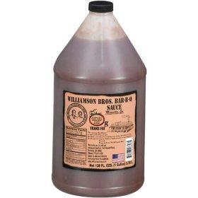 Williamson Bros. Bar-B-Q Sauce (1 gal.)