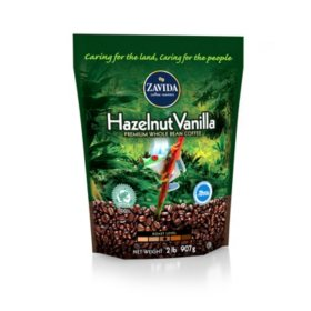 Zavida Coffee? Hazelnut Vanilla Whole Bean - 2lb