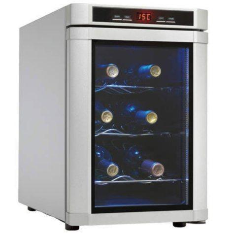 Danby® Maitre'D 6-Bottle Wine Cooler - Platinum