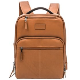 Renwick Genuine Leather Backpack (Select Color)