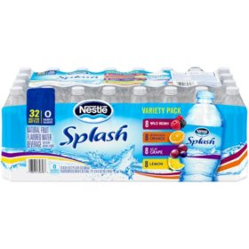 Nestle Splash Variety Pack (16.9oz / 32pk)