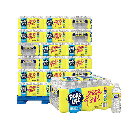 Nestle Pure Life Purified Water Pallet (54 cases) - Sam's Club