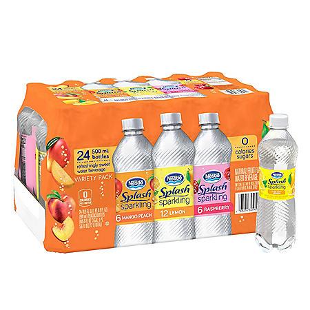 Nestle Splash Sparkling Variety Pack (16.9oz / 24pk)