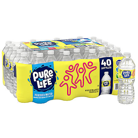 Nestle Pure Life Purified Water (16 9 fl  oz , 40 pk ) - Sam's Club