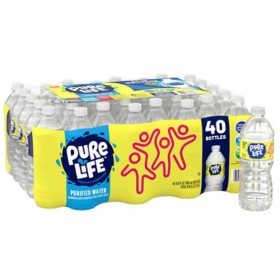 Nestle Pure Life Purified Water (16.9oz / 40pk)