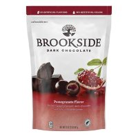 BROOKSIDE Dark Chocolate Pomegranate Flavored Candy, Halloween, Bulk Resealable Bag (32 oz.)