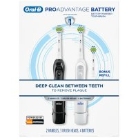 2-pack Oral-B ProAdvantage Deep Clean Battery Toothbrush Deals