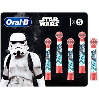 Oral B Kids Extra Soft Replacement Brush Heads featuring Star Wars (5 ct. Refills)