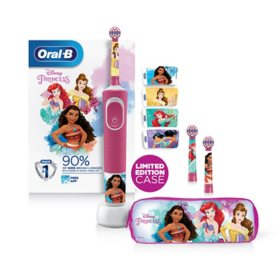 Oral-B Kids Power Toothbrush and Replacement Heads Featuring Disney Princesses