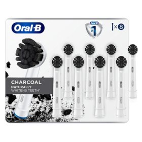 Oral-B Charcoal Electric Toothbrush Replacement Brush Heads Refill (8 ct.)
