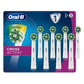 Oral-B CrossAction Electric Toothbrush Replacement Brush Heads (8 ct.)