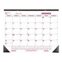 Brownline Monthly Desk Pad Calendar, Chipboard, 22 x 17, 2022