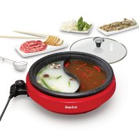 The Rock by Starfrit Dual-Sided Electric Hot Pot