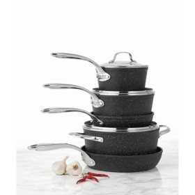 Starfrit The Rock 8-Piece Cookware Set